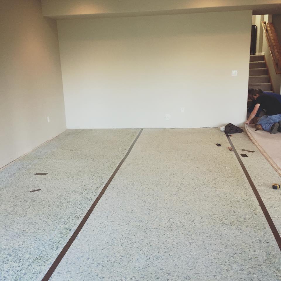 Basement Remodeling Project In Spokane, WA