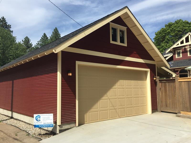 Cannon Valley Garage Doors Spokane Garage Builders Dandk
